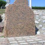 Ouistreham, stèle Commando Renault