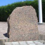 Ouistreham, stèle Commando Flesch
