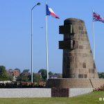 Ouistreham, monument commémoratif de la Libération