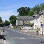 Tour-en-Bessin, la D613 vers Isigny-sur-Mer