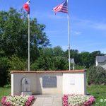 Tour-en-Bessin, monument 1st Infantry Division