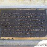 Tour-en-Bessin, plaque 406th Fighter Group