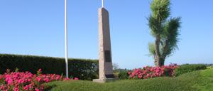 Villons-les-Buissons, monument lettrine