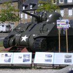 Avranches, char Sherman M4-A4