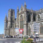 Avranches, l'église Notre-Dame-des-Champs du XIXe siècle