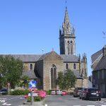 Avranches, l'église Saint-Saturnin du XIXe siècle