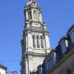 Avranches, tour clocher de la basilique Saint-Gervais et Saint-Protais