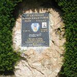 Briouze, stèle Lieutenant Curtis