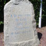 Cérences, monument Captain Thompson