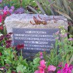 Coutances, stèle 4th US Armored Division