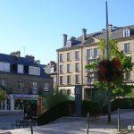 Coutances, la place Saint-Nicolas