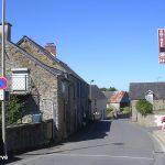 Huisnes-sur-Mer, la rue principale
