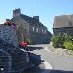 Huisnes-sur-Mer, le centre du village