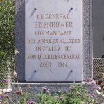 Jullouville, monument QG General Eisenhower