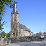 La Vacquerie, l'église Saint-Sulpice du XVIIIe siècle