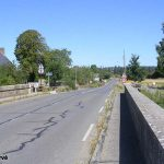 Pontaubault, le pont sur la Sélune vers Avranches