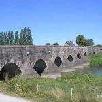 Pontaubault, le pont sur la Sélune
