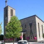 Pontaubault, l'église Saint-André du XXe siècle