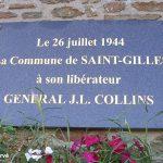 Saint-Gilles, plaque General Collins