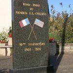 Saint-Gilles, stèle General Collins