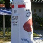 Saint-James, borne du serment de Koufra