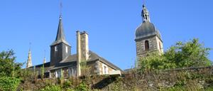 Saint-James, ville lettrine
