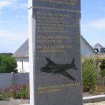 Saint-Sever-Calvados, stèle pilotes alliés
