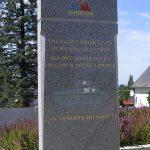 Saint-Sever-Calvados, stèle 2nd Armoured Division