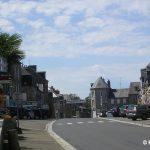 Saint-Sever-Calvados, la rue principale