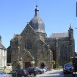 Saint-Sever-Calvados, l'abbaye de Saint-Sever du XIIIe siècle
