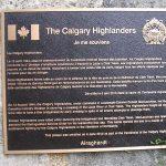 Tournebu Clair-Tison, plaque The Calgary Highlanders