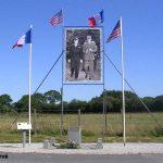 Tournières, monument PC General Eisenhower