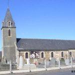 Tournières, l'église Saint-Martin du XIXe siècle