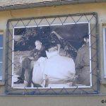 Tournières, panneau historique sur la mairie