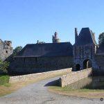 Gratot, le château du XIIIe siècle