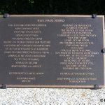 Heugueville-sur-Sienne, plaque Sergeant Risko