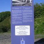 Heugueville-sur-Sienne, totem Espace Historique