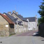 Heugueville-sur-Sienne, le centre du village