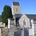 Heugueville-sur-Sienne, l'église Saint-Pierre du XIIe siècle