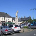 Lingreville, la place du Marché