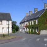 Lingreville, le centre du village