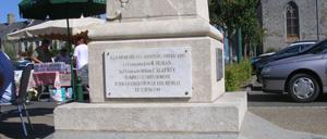 Lingreville, monument lettrine