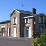 Regnéville-sur-Mer, l'ancienne gare