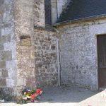 Regnéville-sur-Mer, plaque F. O. Richard Lynch