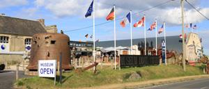 Vierville-sur-Mer, musée lettrine