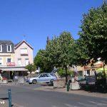 Longueville, la place du Bourg