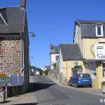 Longueville, le centre du village