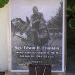 Saint-Germain-d'Elle, panneau Sergeant Edwin Franklin