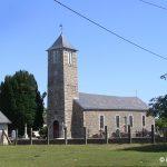 Cérences, l'église de Bourey