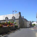 Folligny, le centre du village